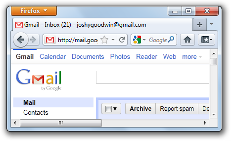 Original Gmail favicon